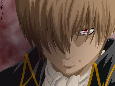 Okita Sougo from Gintama. Does he counts? Post a Puppet Master