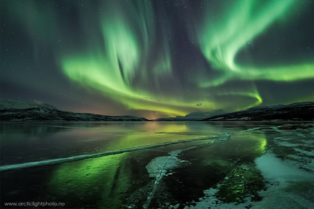 "I think this picture is gorgeous. But generally if you google ""aurora"" you'll find many stunning pict"