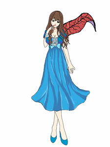 Name: Ami Kuroki (黒木亜美) (beautiful Darkness) Alias: Blue Bird Ranking: SSS Age:23