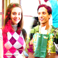 2. Gift {Annie & Abed}