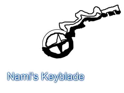 This is Nami/Xami's Keyblade: