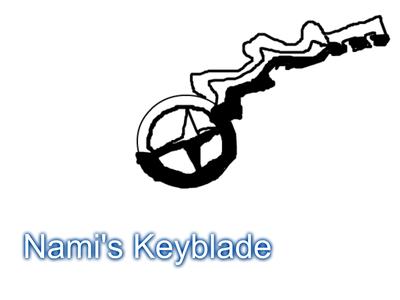 This is Nami/Xami's Keyblade: