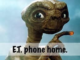 """{ROUND 5 // E} """"E.T phone home"""" // E.T. the Extra-Terrestrial (1982) [Hughmygod]"""