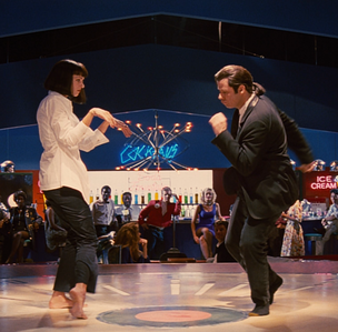 {ROUND 18} Mia and Vincent's dance from Pulp Fiction (1994) // blue_moonlight