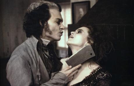 {ROUND 34} Johnny Depp as Sweeney Todd -The Demon Barber of Fleet सड़क, स्ट्रीट (2007) // simovska