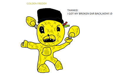 And Chibi Golden Freddy.