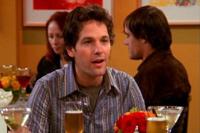 Paul Rudd as Mike :) Next: Rachel with one of her sisters