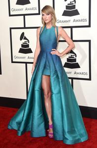tial mermaid barbie at the Grammy's