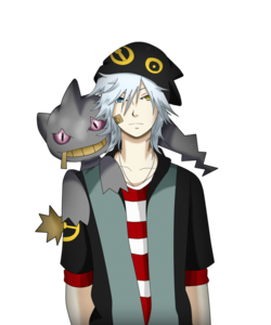 (Alrighties! I'll get my character set up then.) Name: Zane Age: ??? Gender: Male Personality: