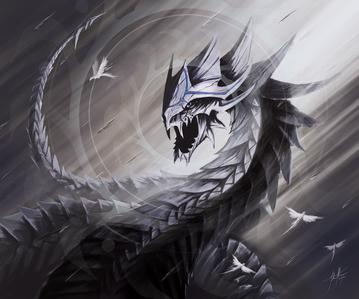 (His Serpent form)