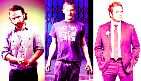 [b][u]Favorite TWD actor:[/b][/u] It's a threeway tie for me, between [b]Andrew Lincoln[/b], [b]Norm