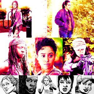 [u][b]Top 5 Female Characters:[/b][/u] [b]Television:[/b] 1. Carol 2. Tara 3. Michonne 4. Beat