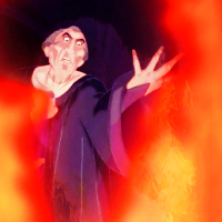 Hellfire! (Hunchback of Notre Dame). Hope it's okay!