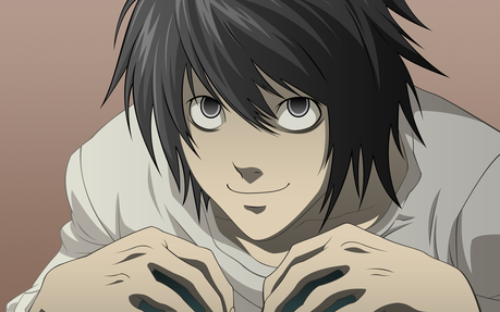 Good animé character (to me he is the best animé character I have ever watched) L Lawliet from Dea
