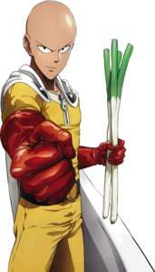 Saitama from One-Punch Man (Good for fun)
