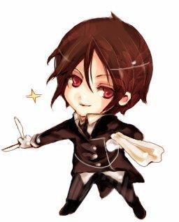 Sebastian Michaelis - Kuroshitsuji (( Black Butler )) - Good I was too lazy to get a actual pic o