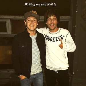 """I Amore this pic Louis postato on Instagram. And """"Neil""""! lol so cute"""