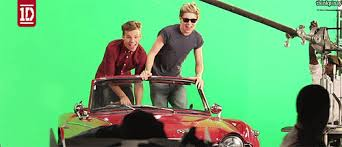 I chose this pic from when they were doing their 'Kiss You' Musica video, they were goofing around whi