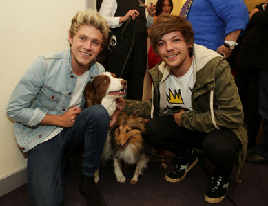 Nouis at Britain's Got Talent. Btw, this is their most recente pic and both of them look AWESOME. Aman