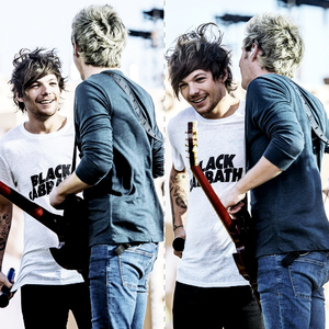 Amore Nouis interaction on stage. so cute <3<3