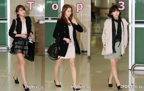 Perfect Score:1100 Rank 1: Sooyoung 1040/1100 2: Yoona 970 3: Taeyeon 940