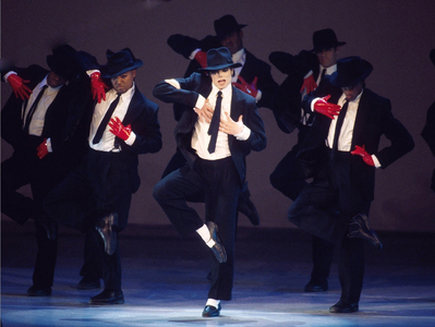 Gifted. His was and always will be an amazing dancer