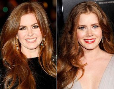 দিন 3 : 2 নায়িকা that look alike...Isla Fisher(on L) and Amy Adams(on R)