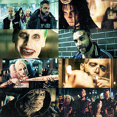 [b]12. What excites 당신 most about Suicide Squad?[/b] VILLAINSSSSS. (And also Jai and Adam and Adewa