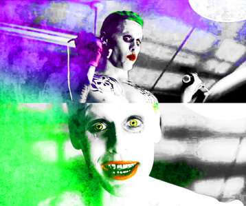 [b]11. Your thoughts on Leto's Joker?[/b] I'm pretty sure he'll nail it. Just in the 10 초