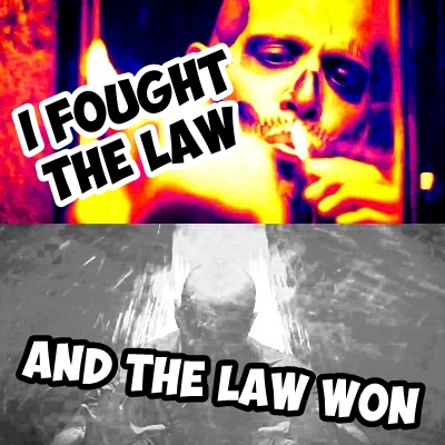 [b]9. Song that reminds 당신 of Suicide Squad?[/b] The Clash's 'I Fought The Law'!