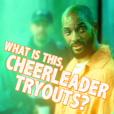 [b]15. Favourite Deadshot moment so far?[/b] Cheerleader tryouts, lol.