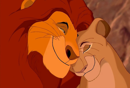 Mufasa and Sarabi <3