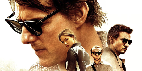Tag 1 Last movie seen in theaters Mission Impossible Rouge Nation