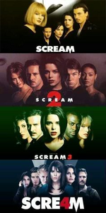 Tag 7 : Favorit horror movie ...the Scream movies...they are the only horror Filme I Liebe and can t