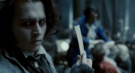 [b]Day 7 : paborito horror movie [/b] Sweeney Todd: The Demon Barber of Fleet kalye Well, horror