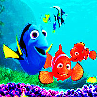 araw 3 : paborito animated movie Finding Nemo