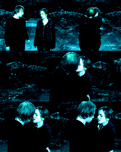 [b]Day 6 : paborito movie kiss[/b] This is hard. But I have to go with Ron & Hermione, beacause, w