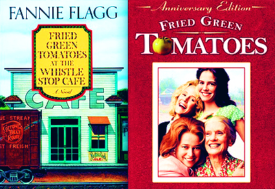 [b]Day 8: paborito movie based on book(s)[/b] Fried Green Tomatoes (...at the Whistle Stop Cafe, sa pamamagitan ng