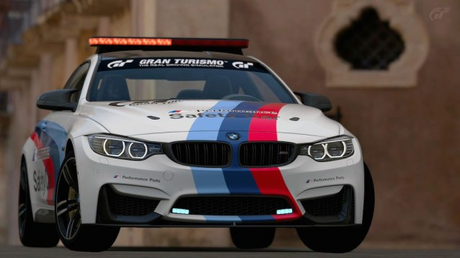 And this is their police car, a BMW M4.