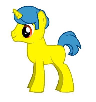 Captain Jefferson is the yellow unicorn in the picture. Captain Jefferson: *Walks into the briefi