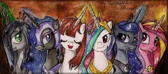 Hi, um, which princess is your favorite? All ponies in the pic below count.