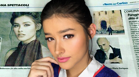 is this a stolen shot of Liza Soberano?