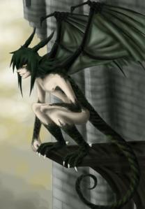 (Ichirou's Draki form)