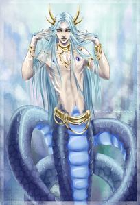 (Gideon's Naga form)