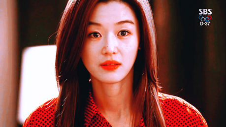 ngày 15: The character you're most similar to [b]Cheon Song-yi [/b] ( My tình yêu from Another Star)