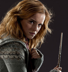 ROUND 20 - Hermione with her Wand [b]Winner - ksw[/b] 2nd - AmberEdith 3rd - greyswan618