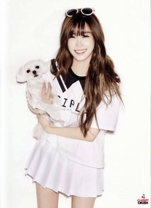 My bias in SNSD is Tiffany Hwang The reason are: 1. She's always Smiling 2. I like her voice 3
