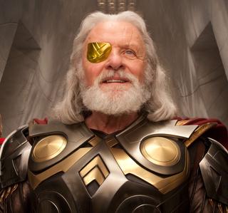 Thor's dad, <b>Odin</b>