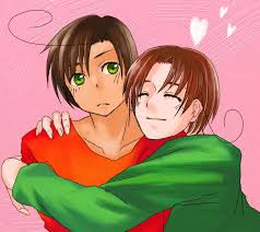 i think Italy as Spongebob and Squidward as Romano makes sense because Romano is always mad at everyo