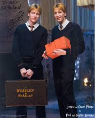mine~ Round 6 - Fred and George